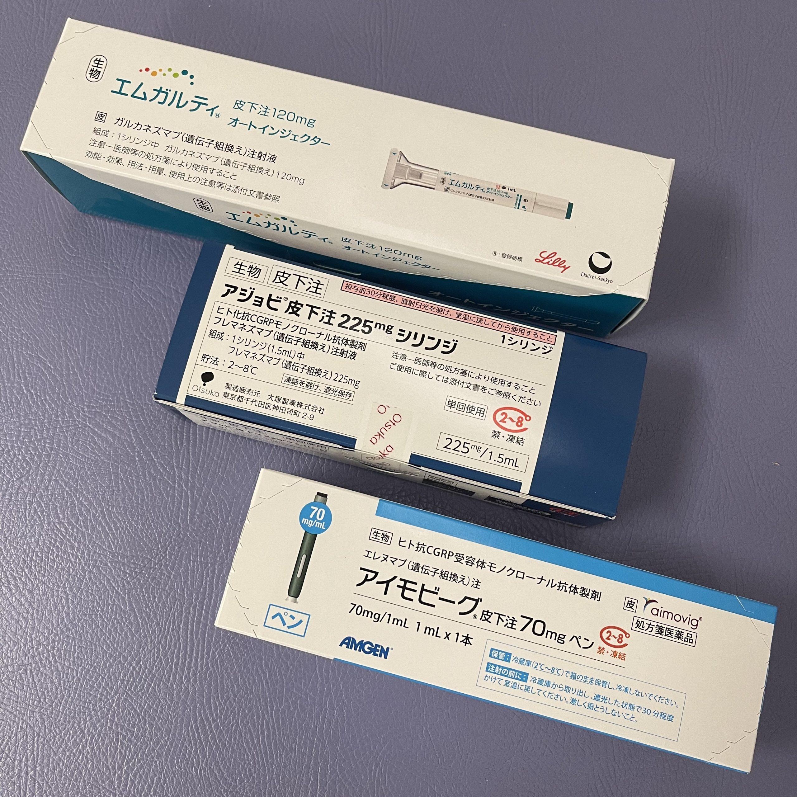 CGRP関連抗体薬